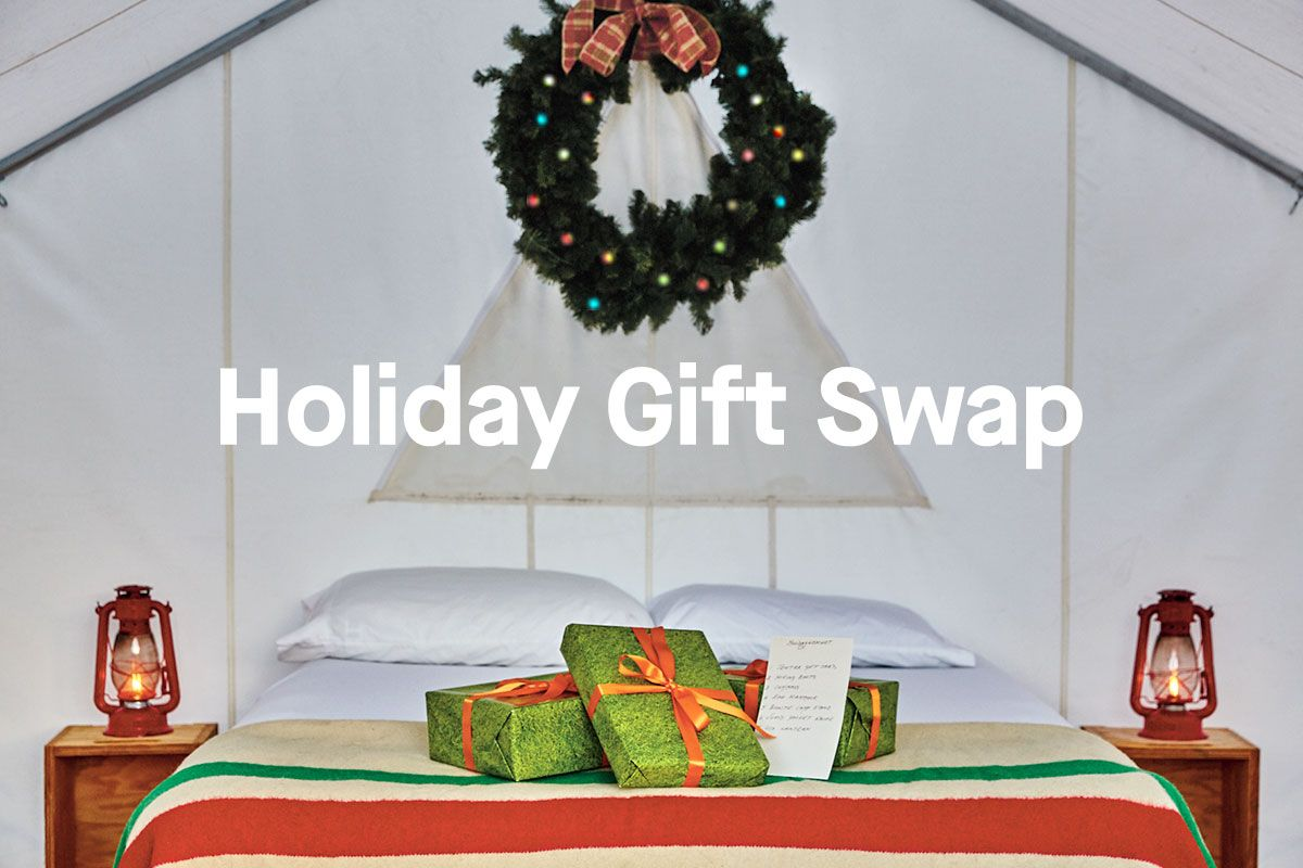 Tentrr Holiday Gift Swap