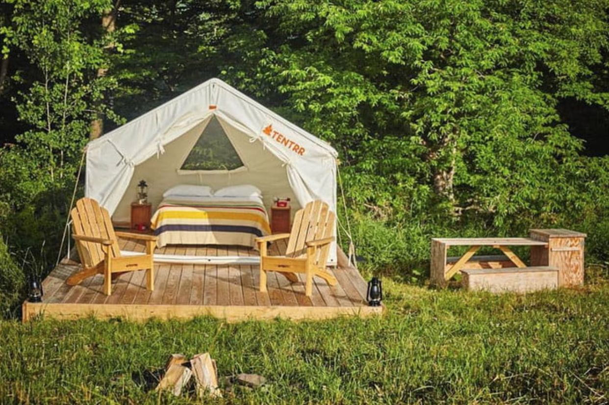 Myth: Camping is Uncomfortable