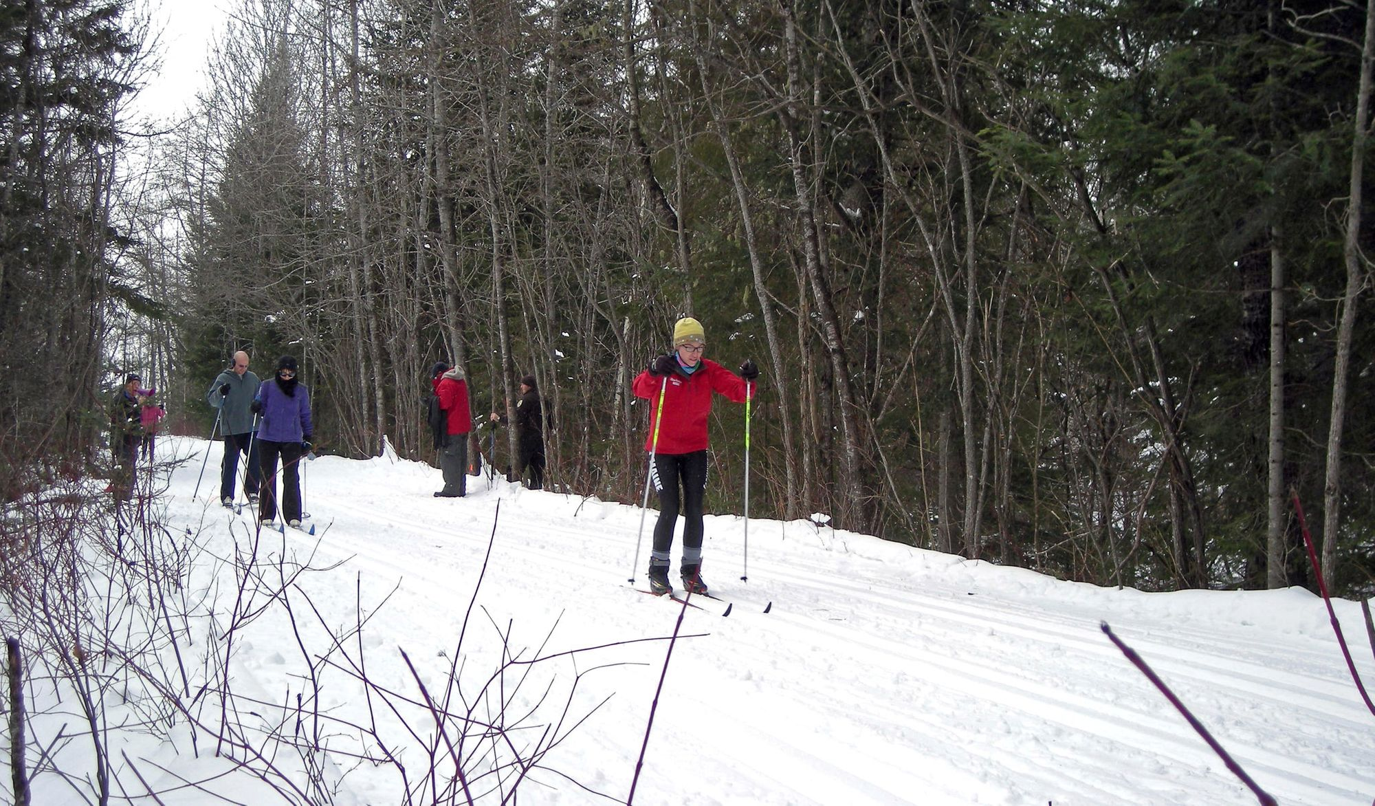 cross country skiing in maine