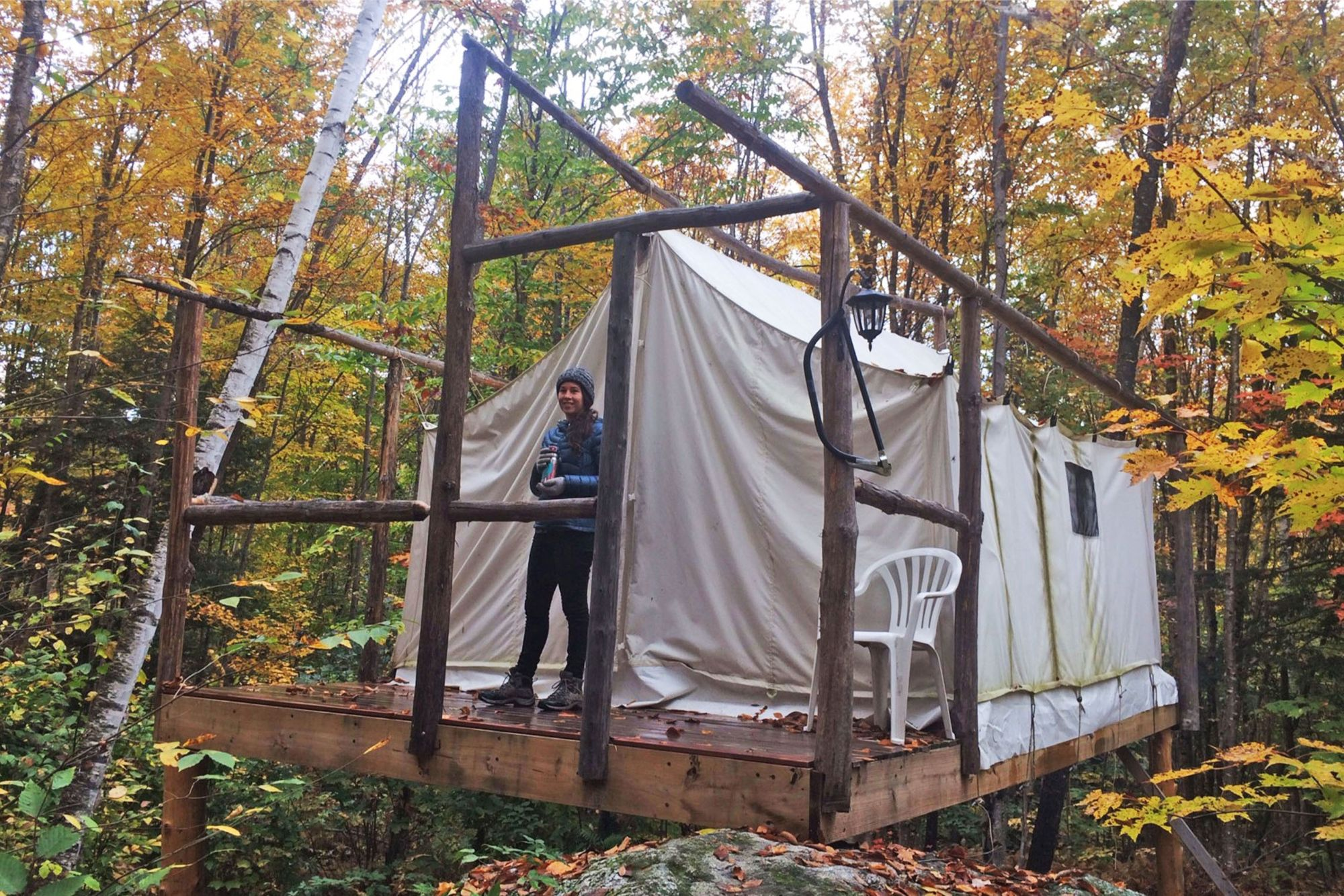 Tent Cabin Camping in New Hampshire Should be Your Next Outdoor Adventure