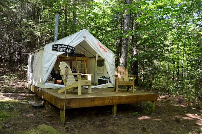 Tent Cabin Camping in New Hampshire - Tentrr