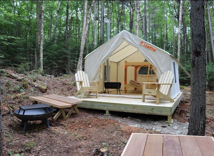 Rangeley Lake Maine State Park Camping - Tentrr