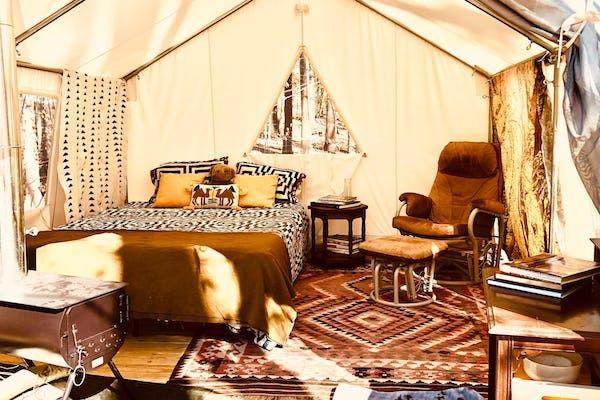 AruguLa La Land Tent Cabin Camping in Maryland