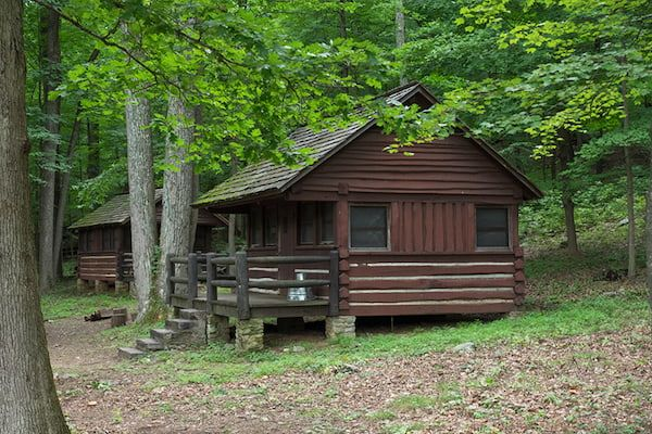 Cunningham Falls State Park Cabin Camping in Maryland