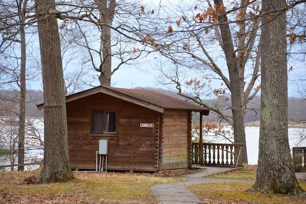 Smallwood State Park Cabin Camping in Maryland