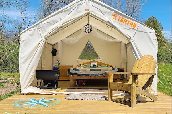Tideside Tentrr Glamping on Maine's Coast
