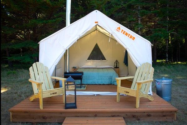 Glamping in Oregon - Cranberry Overlook