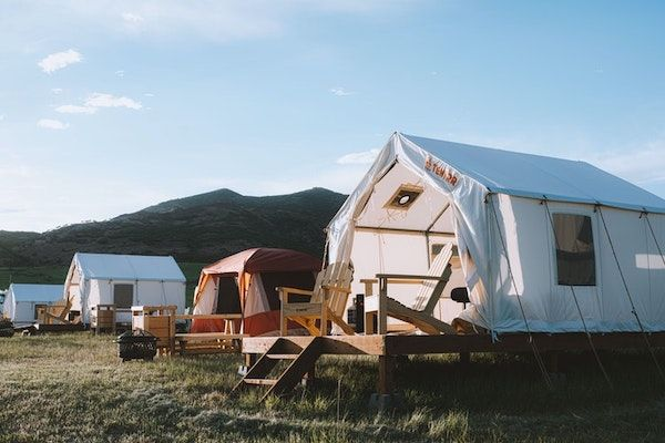 Glamping in Utah's East Canyon State Park