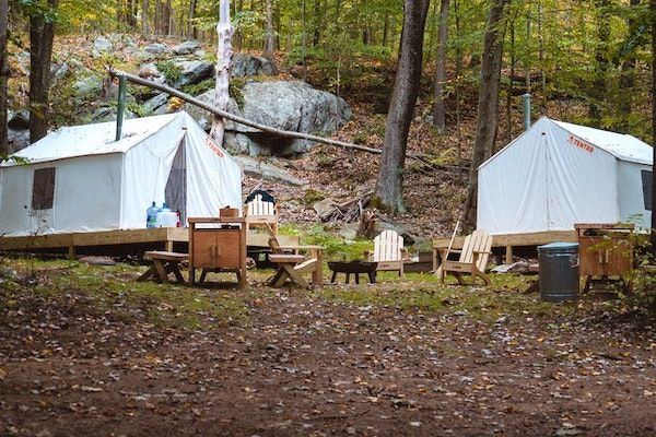 Michigan State Park Camping and Glamping