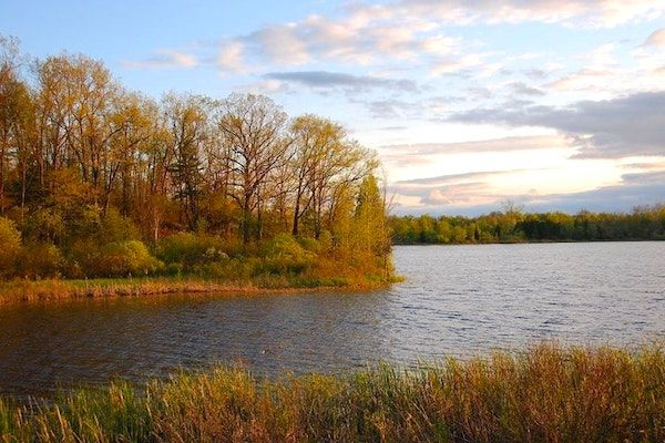 Michigan State Park Camping at Highland Rec Area