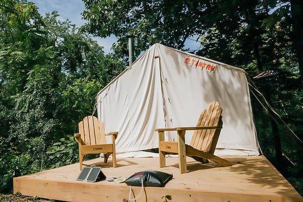 Michigan Sleeper State Park Camping