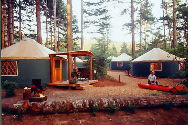 Glamping in Oregon State Parks