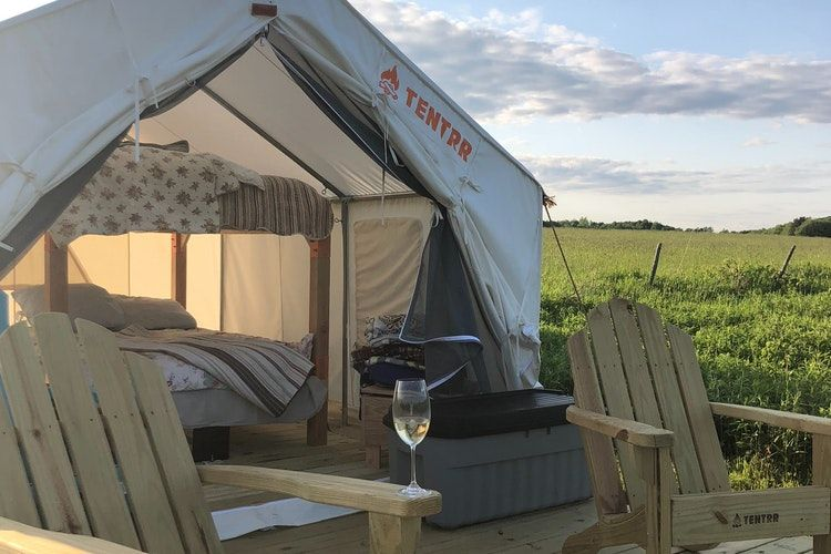 Glamping by the Adirondacks