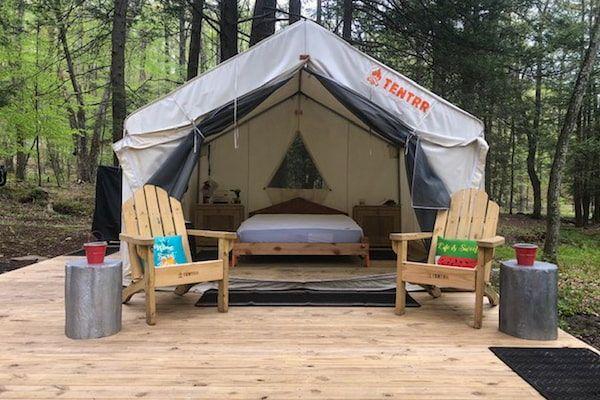 Camping in Pennsylvania - Tentrr Campsite