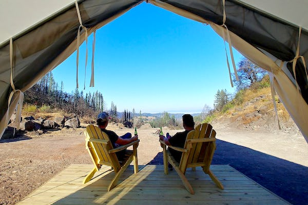 Glamping in California - Tentrr