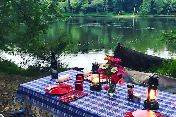 Glamping and camping in Pennsylvania with Tentrr