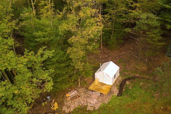Glamping options in Pennsylvania - Tentrr Signature Site