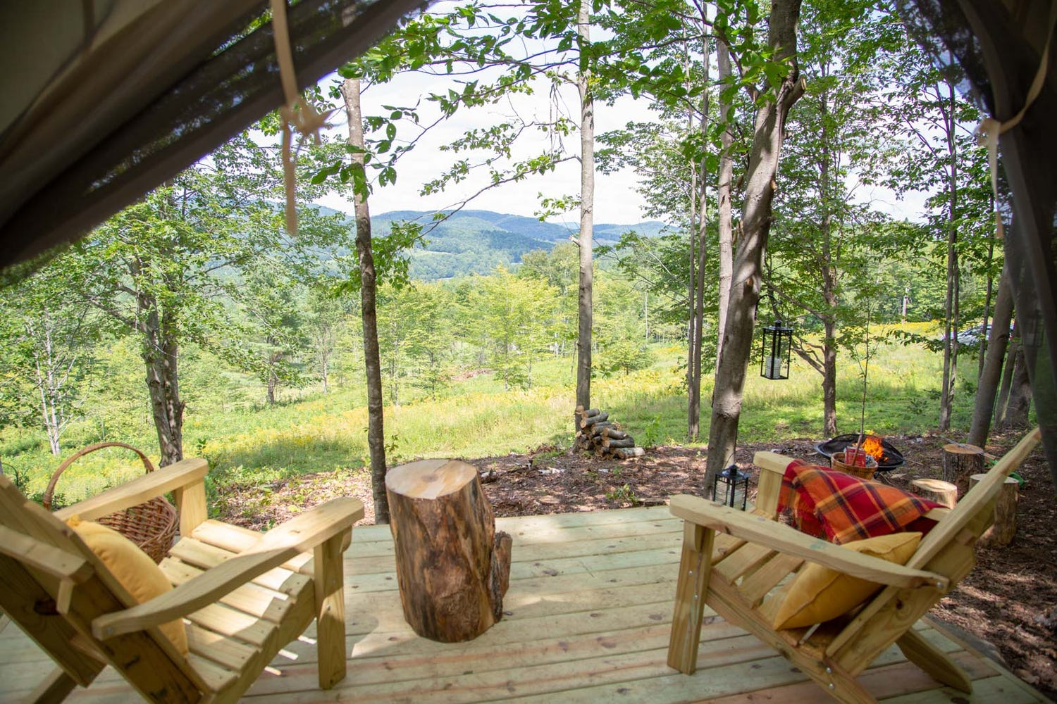 Go Camping in Vermont & Surround Yourself in Forests