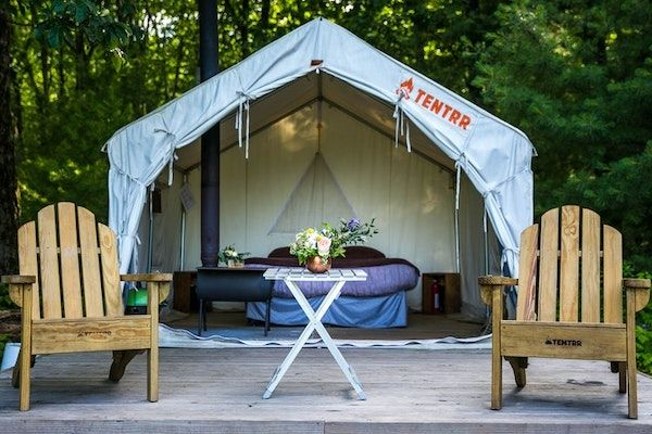 New York Glamping at The Abandoned Zoo