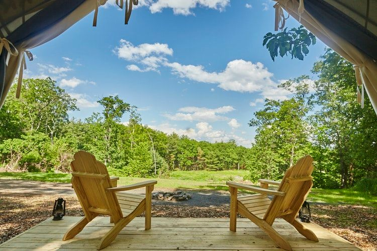 Escape To Nature, In Luxury, at These New York Glamping Sites