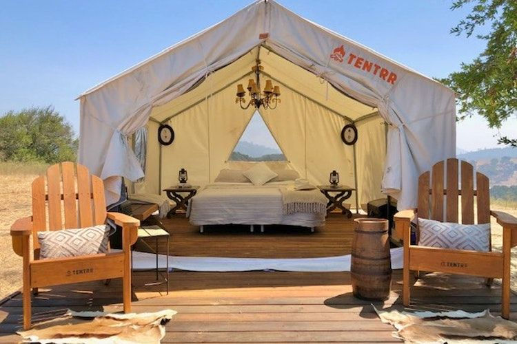 Glamping in California is The Beverly Hills of Camping Trips