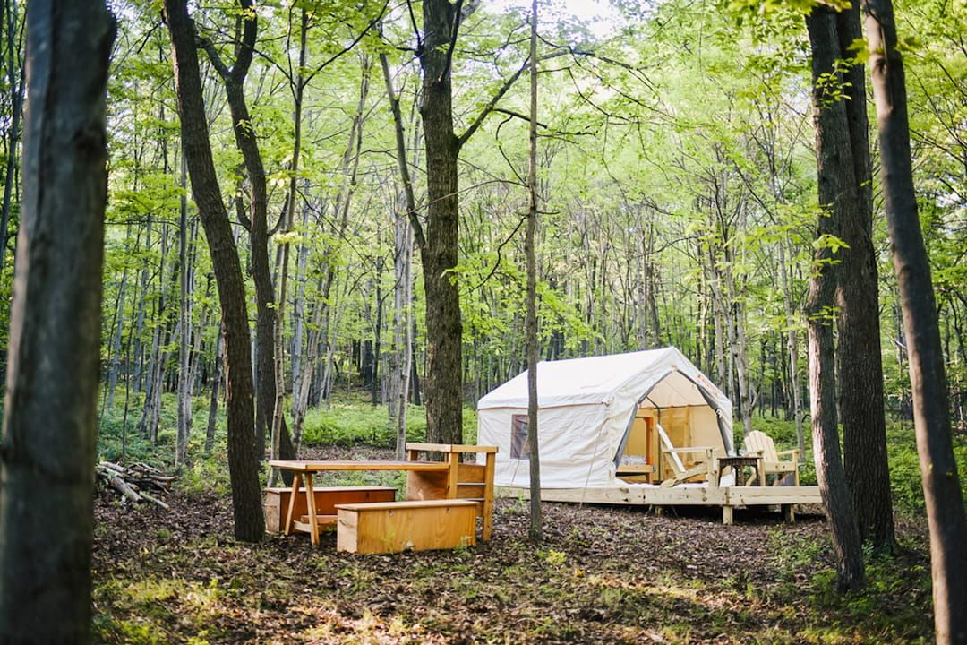 Our Favorite Spots for Glamping & Camping in Pennsylvania