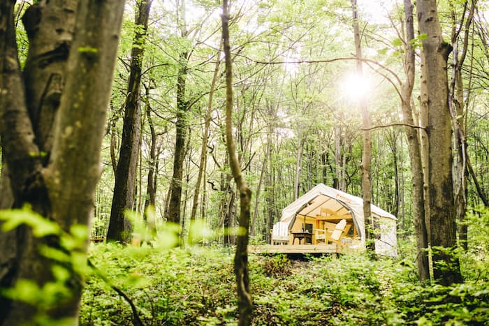 Glamping and Camping in PA
