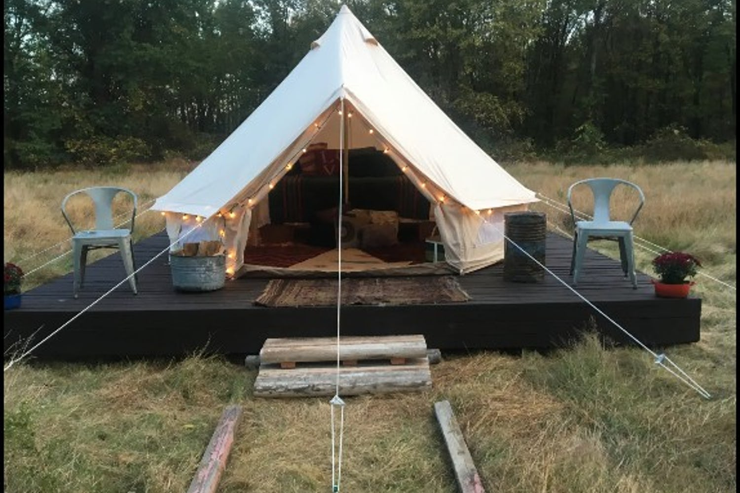 Great Glamping & Camping Options in New Jersey