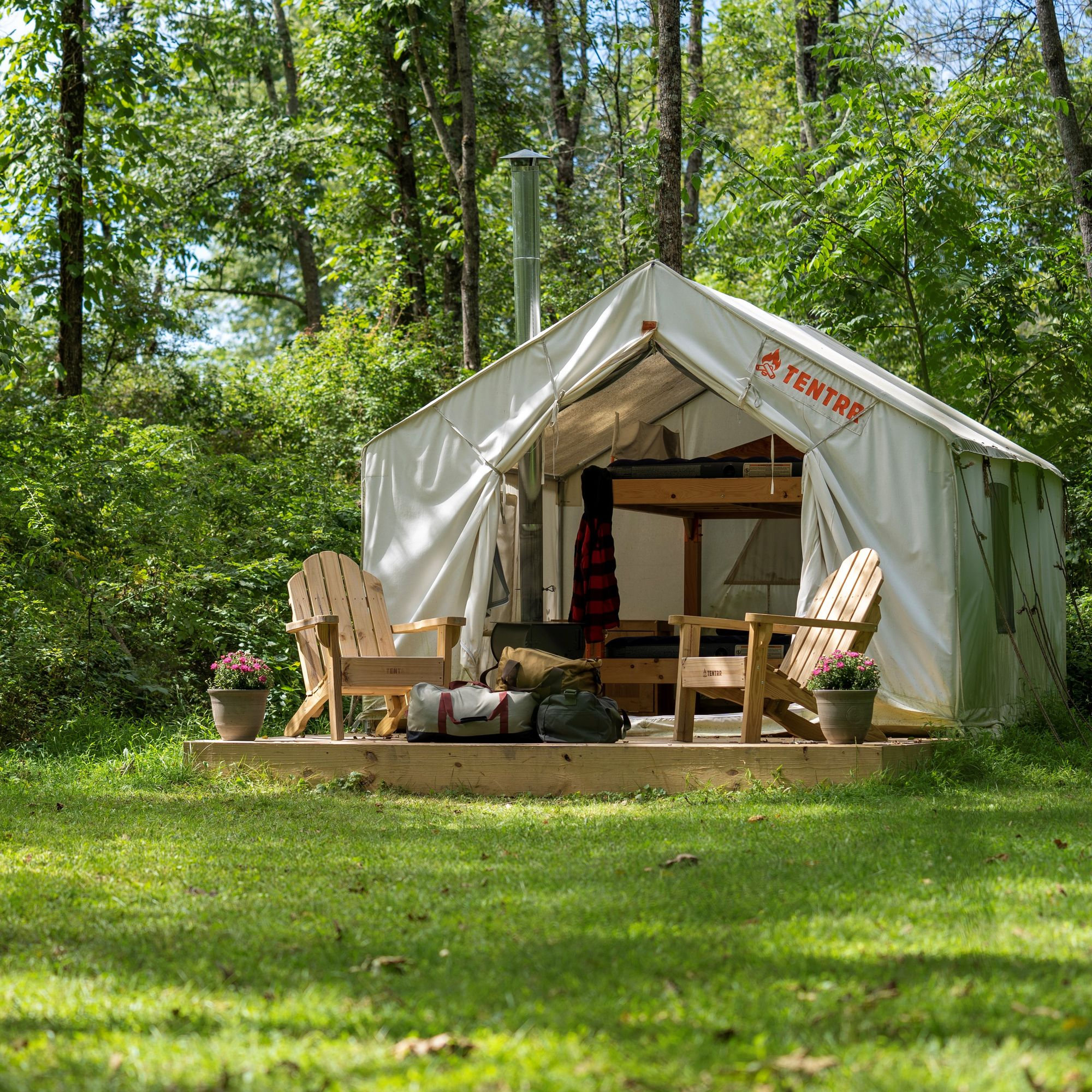 Tentrr Presents A Better Way to Camp and Glamp That Helps Both Campers and Property Owners